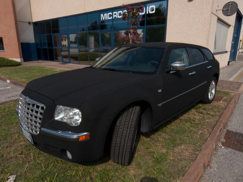 Wrapping Black Velvet Chrysler 300 C