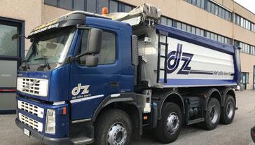 Decorazione pubblicitaria Automezzo pesante - Camion Ghiaia