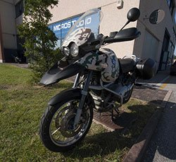 bmw gs wrapping mimetico