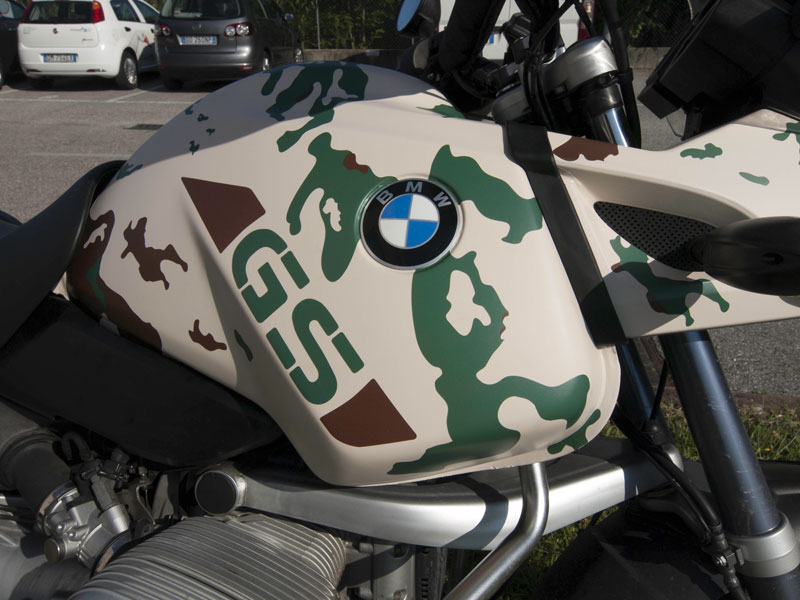 Wrapping mimetico - BMW GS 1150