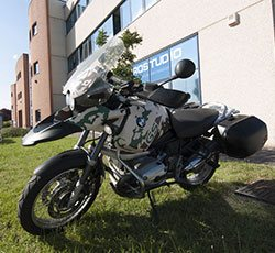 wrapping bmw gs