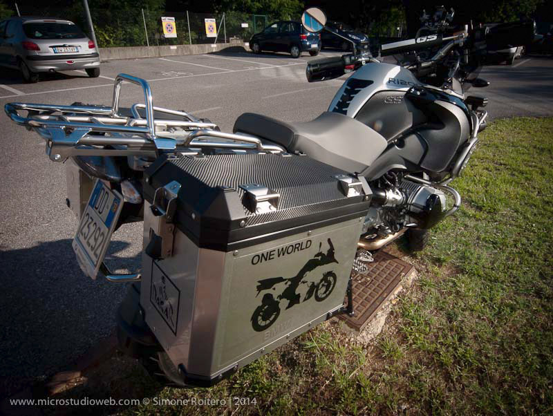 Wrapping Moto Treviso -Wraooing BMW R1200 GS Treviso
