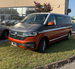 Car Wrapping Bicolore VolksWagen Caravelle