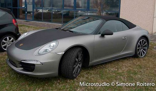 Car Wrapping Treviso | Porsche Carrerra 911