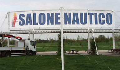 striscione salone nautico Venezia
