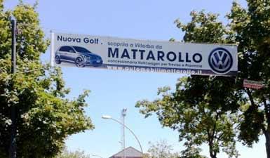 Banner Stradale Pubblicitario Treviso