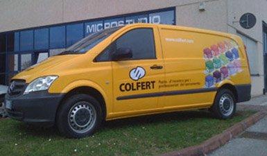 furgone aziendale Colfert (Mercedes)