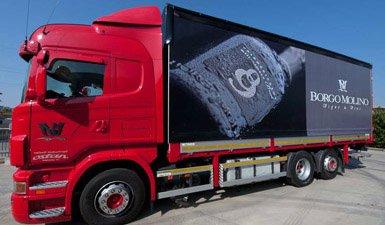 Decorazione camion Borgo Molino