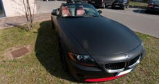 Car Wrapping Nero Opaco Bmw Z4