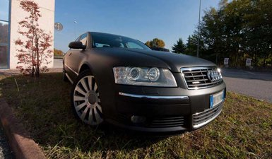 Car Wrapping Audi A8 Treviso