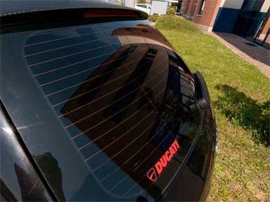 Pellicola oscurante vetri Audi A6