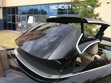 Pellicola oscurante vetri auto