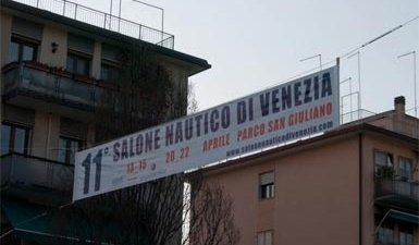 Banner Pubblicitario con Corde | Salone Nautico Venezia